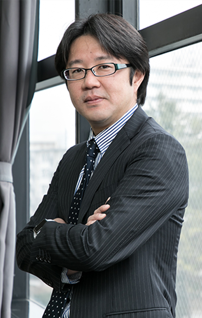 代表弁護士 加藤雅己 近影